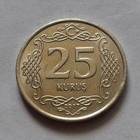 25 куруш, Турция 2017 г.