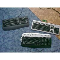 Клавиатуры неисправны-2 шт,исправна-1 шт