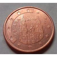 5 евроцентов, Испания 2009 г., AU