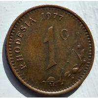 Родезия 1 цент, 1977 1-4-14