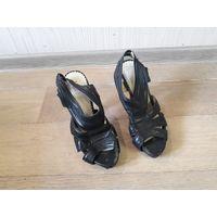 Босоножки, туфли, размер 37, черные Venetta Shoes.