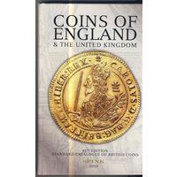 """Каталог монет Великобритании """"SPINK""""(2010 г) от кельтов до 2009 г(45-е издание)."""