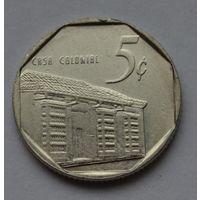 Куба 5 сентаво, 1994 г.
