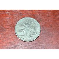 Зимбабве 10 центов 1989