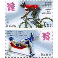 Молдова 2012 г. Спорт. Олимпийские игры в Лондоне  2012 г. *(2 м)