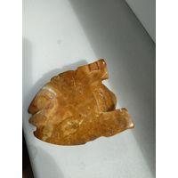Сувенир СССР статуэтка лягушка оникс