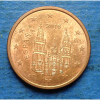 Испания 5 евроцентов 2016