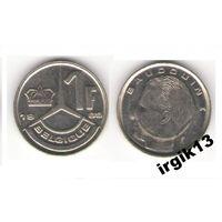 1 франк 1989 года. Бельгия