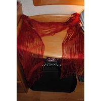 """Шарф женский- прекрасная шаль, как накидка на вечернее платье и не только-""""Красное Море""""!"""