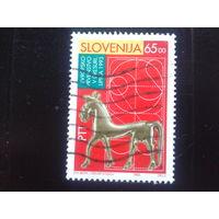 Словения 1993 статуэтка коня 6 века