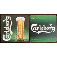 Подставка под пиво Carlsberg No 34 /Великобритания/