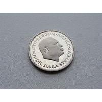 Сьерра - Леоне. 10 центов 1980 год  KM#34