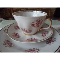 Чайный сервиз рига 6 персон 15 предметов.