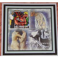 2002 Мозамбик Живопись Пикассо БЛОК **