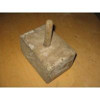 Старинная деревянная мерка-формовочница для сливочного масла, творога