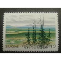 Финляндия 1988 елки