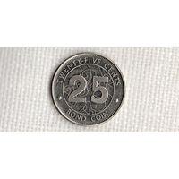 Зимбабве 25 центов 2014(Ki)