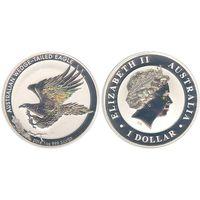 1 доллар 2014 австралийский клинохвостый орел