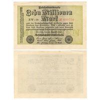 Германия. 10000000 (10 миллионов) марок 1923 г. [P.106] VF
