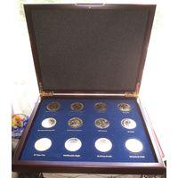 Доллары США редкие монеты, набор в коробке . Копия.