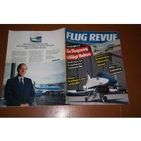 Авиационный журнал FLUG REVUE апрель 1990