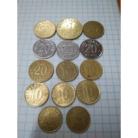 Монеты Эстонии.