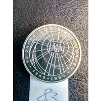 10 марок ФРГ. Серебро 0,925. 83.