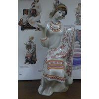 Украинка вышивальщица 21 см экспорт автор Мусиенко Киев