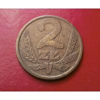 2 злотых 1981 Польша #03