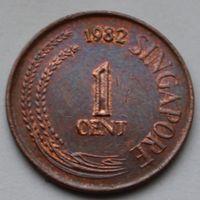 1 цент 1982 Сингапур