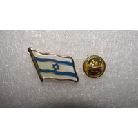 Флаг Израиля эмаль, золочение