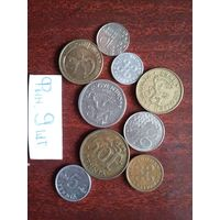 9 монет фины