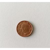 1 евро цент 2016 Бельгия