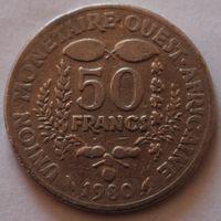 Западная Африка, 50 франков 1980 г
