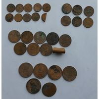 Сборный лот монет СССР