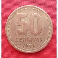 63-30 Аргентина, 50 сентаво 1994 г.