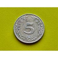 Тунис. 5 миллимов 1997 (1418). (1).