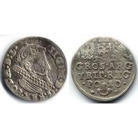 Трояк 1624, Сигизмунд III Ваза, Краков