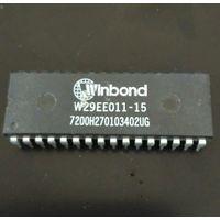 W29EE011-15 - 1 Megabit (128k x 8-bit, DIP-32) Flash Memory, BIOS из ретро-плат.