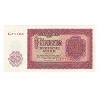 Германия ГДР 50 марок 1955 года. Состояние UNC! Редкая!