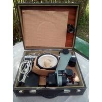 Фотоувеличитель СССР УПА-510. В оригинальном чемодане.