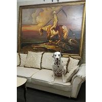Огромная картина музейного уровня 222*157. Холст/Масло
