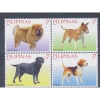 [2217] Филиппины 2010. Фауна.Собаки. СЕРИЯ MNH