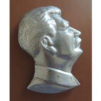 Барельеф И.В. Сталина, алюминий