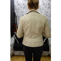 Куртка MNG натуральная кожа для стройняшки