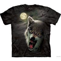 Футболка с изображением волка