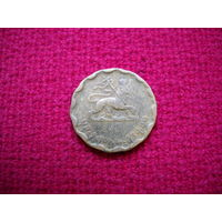 Эфиопия 25 центов