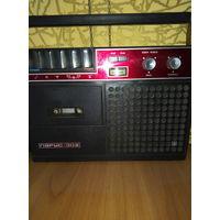 Магнитофон парус 302. 1982 г.рабочий