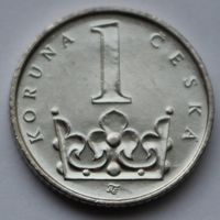 1 крона 2009 Чехия
