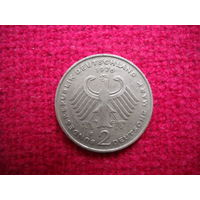 ФРГ 2 марки 1976 г. ( F )